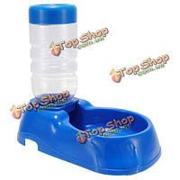 ПЭТ бутылки питьевой воды автоматическая кормушка для кошек собак