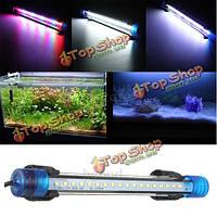 Аквариум водонепроницаемый LED свет бар аквариум погружной Downlight тропический аквариум продукты 3w 30см