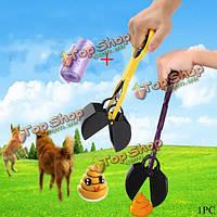 Домашнее животное собака кошка отходы Pooper ковшовой нории экскаватор мочиться граббер забрать помет садовые отходы очистки