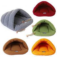 Домашнее животное кошка собака спальный мешок подушки теплый уютный дом кинологический кровать