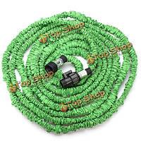 25 50 75 100 футовый зеленый гибкий растягивающийся шланг EU/US стандарта