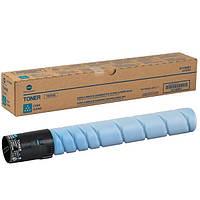 Тонер Konica Minolta TN-221C, Cyan (голубой) для bizhub С227/С287 (21 000 страниц, А4 @5%)
