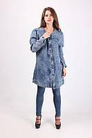 Оригинальный женский джинсовый кардиган