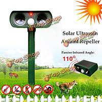 GreatHouse ультразвуковой солнечной энергии собаки кота отпугиватель открытый сад инфракрасный датчик животных Отпугиватели