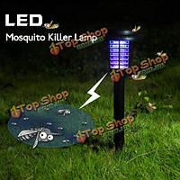 Сад солнечной энергии LED комаров убийца лампа двор пластиковые водонепроницаемый свет газон