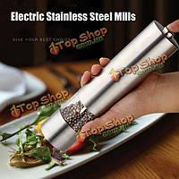 Электрический мельницы из нержавеющей стали перец инструмент кухни соль перец мельница шлифовальный станок Мюллер