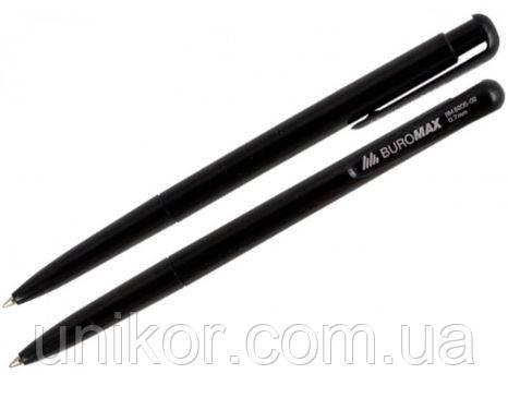 Ручка шариковая автоматическая, BM.8205, корпус черный, стержень черный. BuroMax