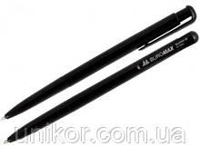 Ручка кулькова автоматична, BM.8205, корпус чорний, стрижень чорний. BuroMax