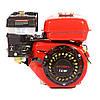 Двигатель WEIMA BT170F-L (R) с редуктором (шпонка, вал 20мм, 1800 об/мин), бензин 7.5 л.с.