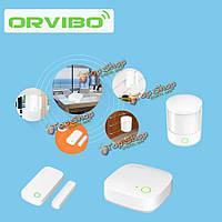 Orvibo умный комплект домашней системы сигнализации датчик движения PIR двери Windows дистанционного управления установлены лучшие цены
