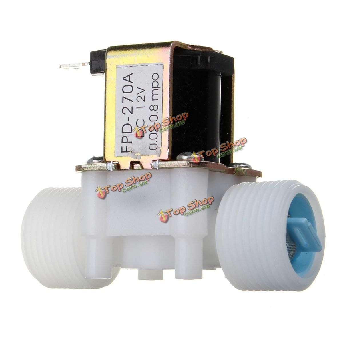G3/4 12v стр нормально закрытый электромагнитный клапан типа воды отводящего устройства - ➊TopShop ➠ Товары из Китая с бесплатной доставкой в Украину! в Киеве