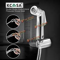 KCASA™ двойные режимы герметизировать ванная кухня биде душ сиденье для унитаза Shattaf насадка для душа распылитель