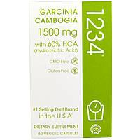 SALE, Гарциния камбоджийская 1234, Creative Bioscience, 1500 мг, 60 капсул.