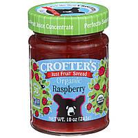 Crofter's Organic, Просто фруктовый джем, органическая малина, 10 унций (283 г)