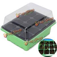 12 отверстий семена растений растут коробке семена прорастают поднос садовый инвентарь