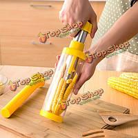 Инструмент очистки кукурузных зерен