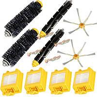 10шт фильтры кисти упаковать большой набор для IRobot Roomba 700 Series 6 вооружен 760 770 780