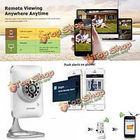 Zmodo 720P HD Wi-Fi IP-камера Mini Радионяня двухсторонняя аудио ночного видения