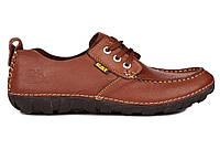 Мужские туфли Caterpillar Boat каштановые, фото 1
