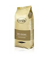 Зерновой кофе Caffe Poli Oro Vending. Крепкий вкус, ароматная пенка