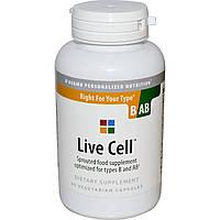 Живые клетки (Live Cell) диета по группе крови III/IV (В/АВ), D'adamo, 90 кап.