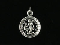 Кулон-амулет знак зодиака Дева