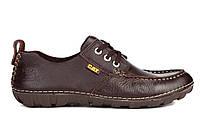Мужские туфли Caterpillar Boat коричневые, фото 1
