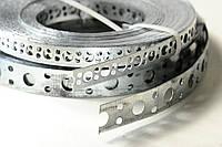 Перфолента монтажная оцинкованная (лента монтажная перфорированная) М8 18х0,65мм (25 м.п.)