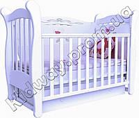 Кроватка Верес ЛД15 Соня белая