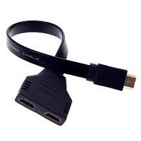 HDMI сплиттер Flat 1x2