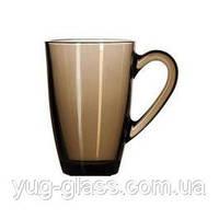 """Кружка стеклянная 393 мл """"Mugs 55393-1_BR"""" (Bronze) 1шт."""