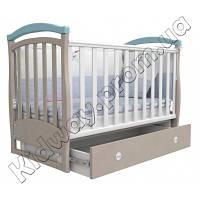 Кроватка Верес ЛД6 Соня голубая