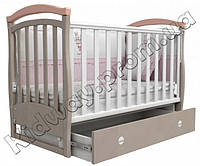 Кроватка Верес ЛД6 Соня розовая