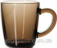 """Кружка стеклянная 340 мл """"Mugs 55531_BR"""" (Bronze) 1шт."""