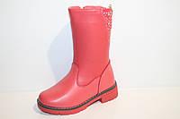 Детская зимняя обувь. Зимние сапожки на девочек от фирмы TOM.M 8881G (8пар, 27-32)