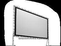 AV Screen Экран прямой пассивной 3D проекции на люверсах из посеребрённого перфорированного полотна AV Screen-copy