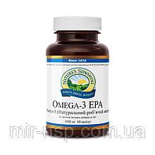 Омега 3 EPA, омега 3 — жирные кислоты, беременность-Омега 3, рыбий жир в капсулах НСП