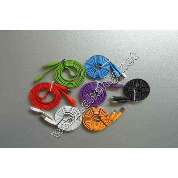 Шнур USB - micro USB лапша