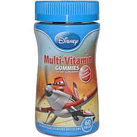 Мультивитамины для детей (виноград, апельсин, вишня), Multi-Vitamin Gummies, Disney, 60 штук
