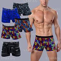 Модные мужские трусы Redoor боксеры бамбук. В упаковке 6 штук