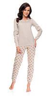 Пижама женская Dobra Nocka 9089 брючная хлопковая