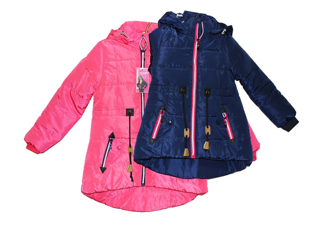 Курточка подростковая на синтепоне для девочки. Q-61