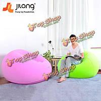Цзилун творческий портативный стекаются быстрый надувной ленивый диван кресло-кровать спать домой садовая мебель