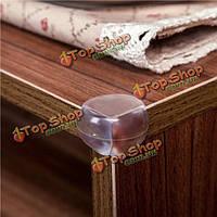 4шт прозрачный ПВХ безопасности детей стол угловой кромки протектора пусковой площадки валика