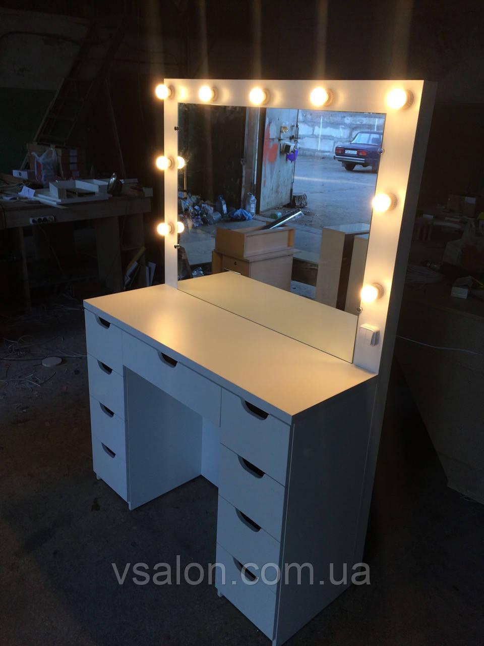 Столик для визажистов с подсветкой V51