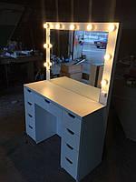 Стол для визажиста (макияжа) гримерный с подсветкой V51