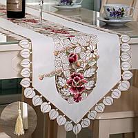 Пастырской цветок крышка стола бегун Скатерть стол с кисточкой свадебный фестиваль декора