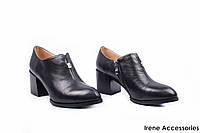 Туфли женские кожаные Kadandier (ботильоны низкие, внутри кожа с 35р)
