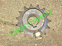 Звездочка ОЗШ 00.740А(z-15.t-15.875) механизма передач.Запчасти к сеялкам СЗ-36,СЗС,СТС