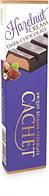 Черный  шоколад Сachet c ореховым кремом, 75 гр